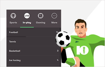 10bet review live betting