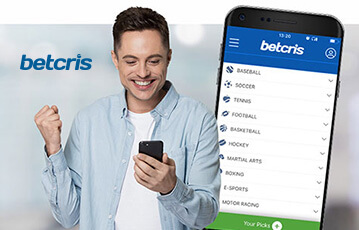 betcris sport review mobile app