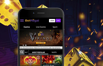 BetRegal review mobile app