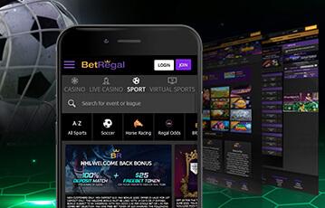 Bet Regal review mobile app