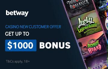 betway poker casino bonus