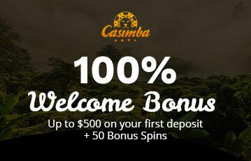 casimba poker casino bonus