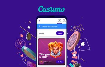 casumo poker review mobile app