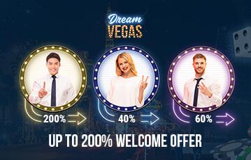 dreamvegas poker casino bonus