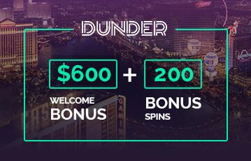 dunder casino poker casino bonus