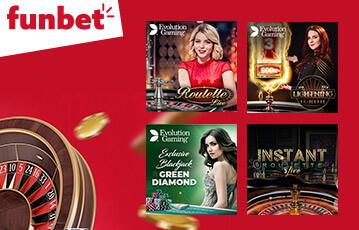 funbet live casino