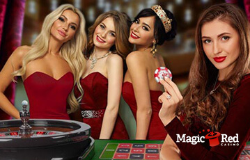 magicred poker live casino review