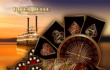 riverbelle casino poker live casino review