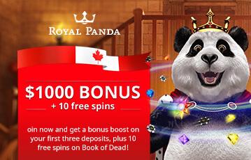 royal panda poker casino bonus