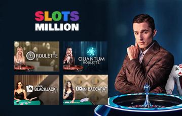 Slots Million Table Casino Games