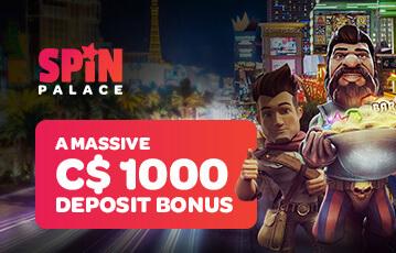 spin palace poker casino bonus