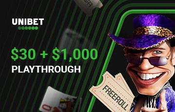 unibet poker casino bonus