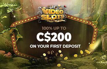 videoslots poker casino bonus