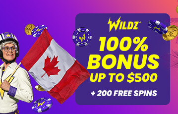 wildz poker casino bonus